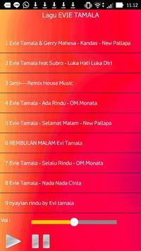 Lagu EVIE TAMALA apk screenshot