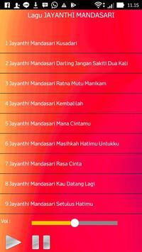 Lagu JAYANTHI MANDASARI screenshot 1
