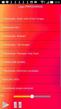 Lagu MARSHANDA screenshot 1