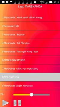 Lagu MARSHANDA screenshot 2