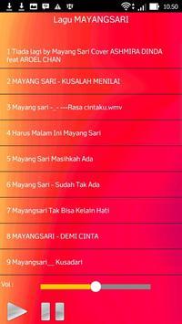 Lagu MAYANGSARI screenshot 1