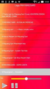 Lagu MAYANGSARI screenshot 2