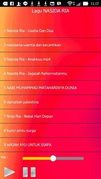 Lagu NASIDA RIA screenshot 1