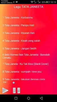 Lagu TATA JANEETA Lengkap screenshot 1