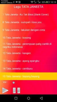 Lagu TATA JANEETA Lengkap screenshot 2