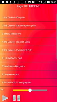 Lagu THE GROOVE screenshot 1