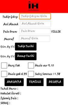 icra hesap apk screenshot