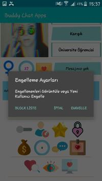 Arkadaş bul, Buddy Chat Apps screenshot 5