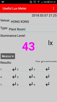 Useful Lux Meter poster