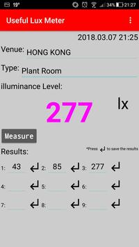 Useful Lux Meter screenshot 1
