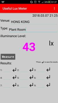 Useful Lux Meter screenshot 4