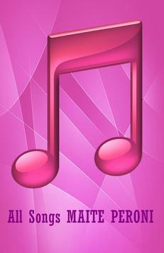 All Songs MAITE PERRONI apk screenshot