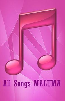 All Songs MALUMA apk screenshot