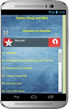 Romantic Valentine Songs 2018 apk screenshot