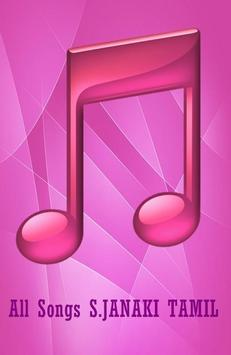 All Songs S.JANAKI TAMIL poster