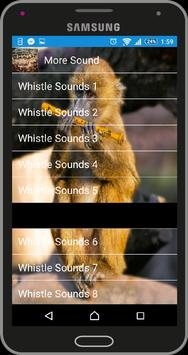 Whistle Sounds poster