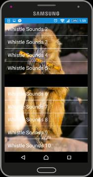 Whistle Sounds apk screenshot