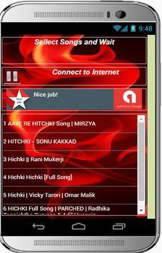 HICHKI Movie Songs screenshot 1