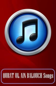 All Songs QURAT UL AIN BALOUCH apk screenshot