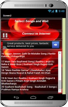 TOP 20 Hindi Songs 2017 apk screenshot