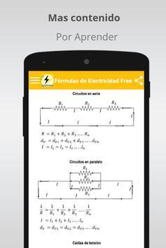 Free Electricity Formulas screenshot 2