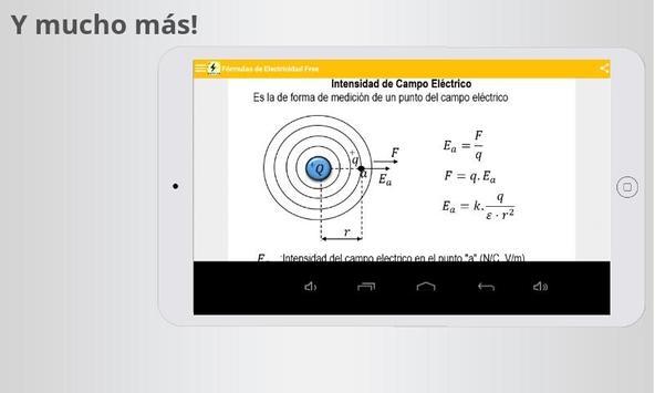 Free Electricity Formulas screenshot 7