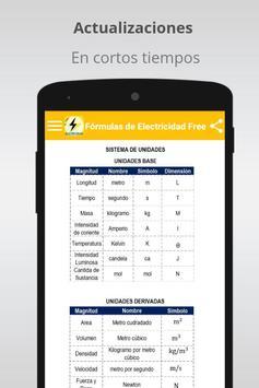 Free Electricity Formulas screenshot 4