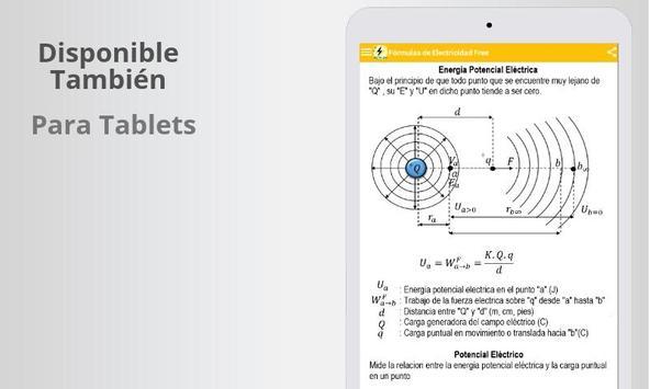 Free Electricity Formulas screenshot 6