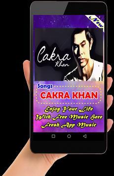 Lagu CAKRA KHAN Lengkap poster
