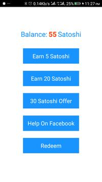 Bitcoin Miner - Earn Free Bitcoin apk screenshot