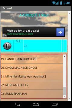 AASHIQUI 3 Mp3 apk screenshot