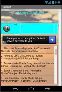 All Songs Chiranjeevi apk screenshot