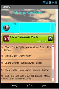All Songs Aamir Khan apk screenshot