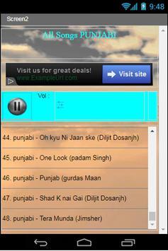 All Songs PUNJABI apk screenshot