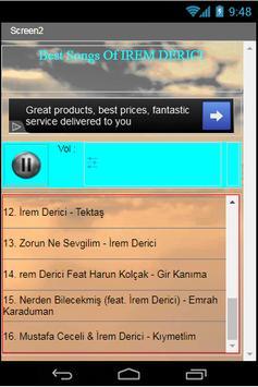 Best Songs Of IREM DERICI apk screenshot