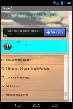 Lagu Tembang Kenangan Terbaik apk screenshot