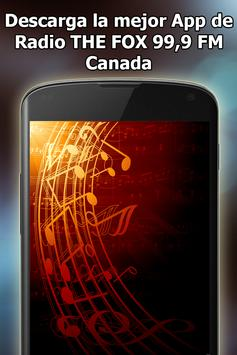 Radio THE FOX 99,9 FM Online Free Canada screenshot 16
