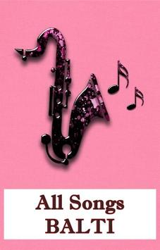All Songs BALTI poster