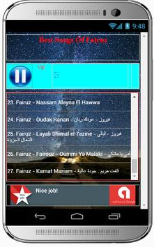 Best Songs Of Fairuz screenshot 2