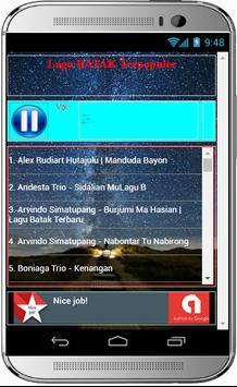 Lagu BATAK Terpopuler screenshot 1