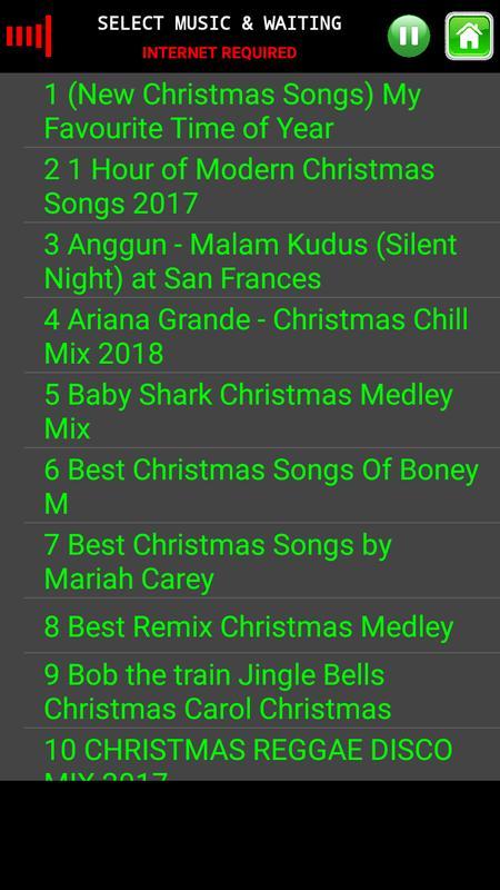 video music christmas non stop screenshot 13 - Best Modern Christmas Songs