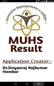 MUHS Result poster