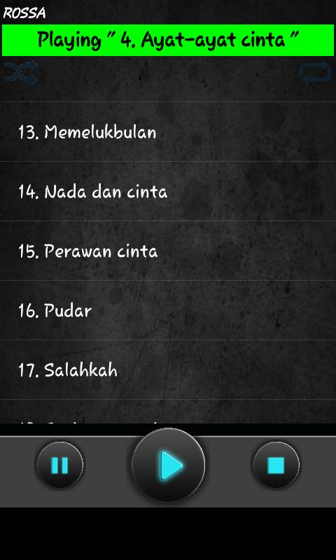 Lagu Rossa Mp3 For Android Apk Download
