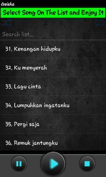 lagu GEISHA mp3 apk screenshot