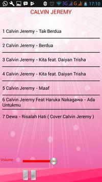 Lagu CALVIN JEREMY screenshot 2