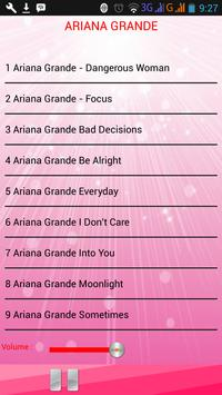Lagu ARIANA GRANDE screenshot 1