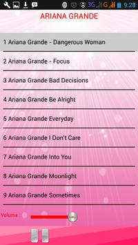 Lagu ARIANA GRANDE screenshot 2