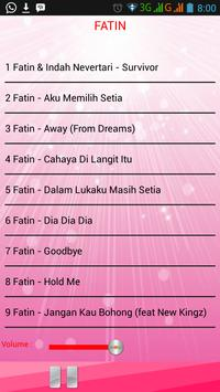Lagu FATIN screenshot 1