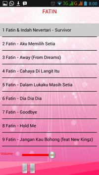 Lagu FATIN screenshot 2