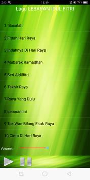 Lagu LEBARAN IDUL FITRI apk screenshot